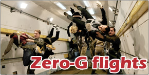 Perform an amazing Zero Gravity flight!