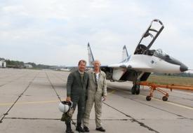 August Rush: Breaking News from the Airfield | Полеты на истребителе МиГ-29 в стратосферу