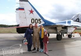 Now then ladies! | Полеты на истребителе МиГ-29 в стратосферу