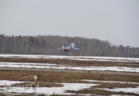 Flights in the spring air | Полеты на истребителе МиГ-29 в стратосферу
