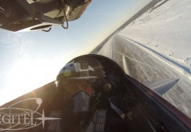 From Italy to Japan | Полеты на истребителе МиГ-29 в стратосферу