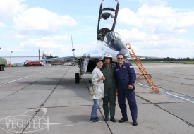 Onwards and Upwards: Summer MiG-29 Flights Program | Полеты на истребителе МиГ-29 в стратосферу