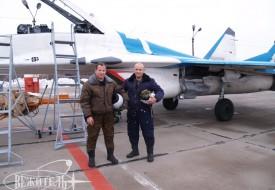 Observing the space   Полеты на истребителе МиГ-29 в стратосферу