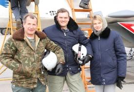 Yuri Polyakov | Полеты на истребителе МиГ-29 в стратосферу