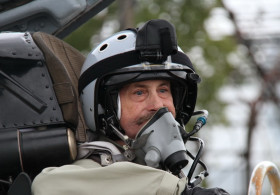 Inexpressible feelings from amazing fighter jet ride along