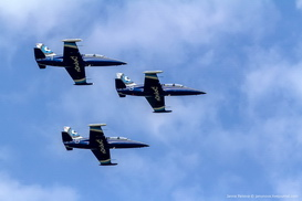 L-39 Albatros flights in Russia